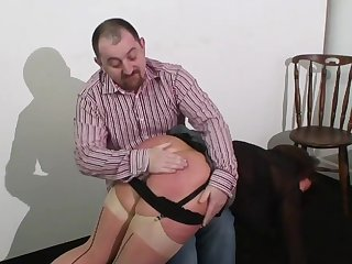 Mature Lady Spanked and Caned