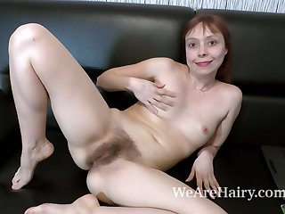 Trixie strips and masturbates on her..