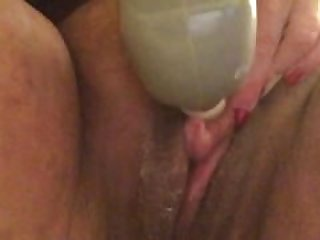 Vibrate that pumped clit to orgasm