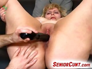 Mature pussy fingering and toying feat...