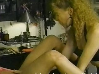 Really hot blonde learns that only the..