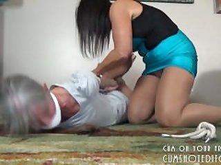 Hot MILF Bondage