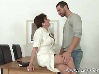 Lady Sonia gets fucked by husbands..