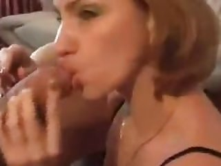 Sexy mature woman smoking and deep..