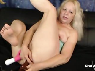 Small flexible pale granny Heidi Hoe..