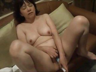 Asian amateur masturbation with milf Joon