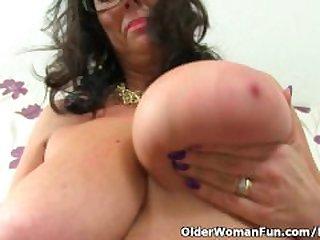 British mature secretary Lulu Lush..