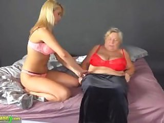 Compilation grannies with matures with..