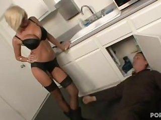 Step Mom Seduces plumber