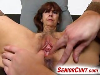 Very old hairy vagina of gradma Lada on..
