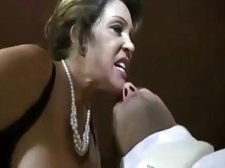 strict mommy handjob