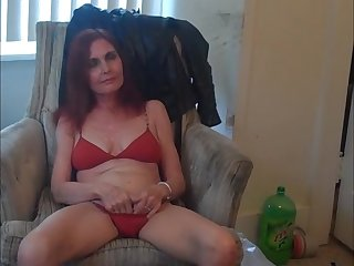 Redhot Redhead Show (red bikini..