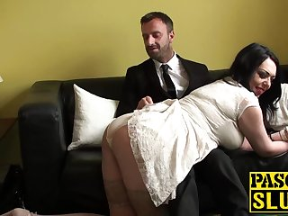 Busty MILF Harley Sin gets her mouth and..