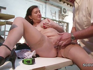 German MILF In Stockings Seduce to Fuck