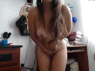 Alicia disfrutando