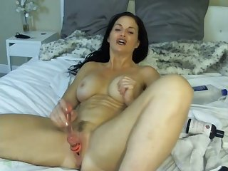 mature masturbating and orgasm