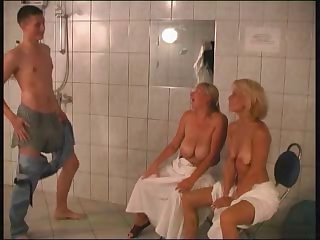 Russian MILF,Granny,Mature and young boy..