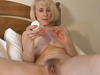 Sweet Mom Hazel May Plays With Her Hairy..