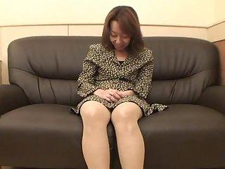 47yr old Hairy Kiyoko Tachibana gets..