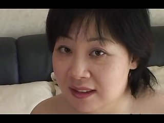 44yr old Chubby Busty Japanese Mom..