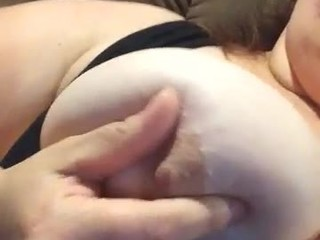 Big BBW and her tits