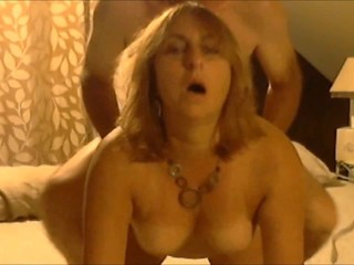 Joanne sucking and fucking