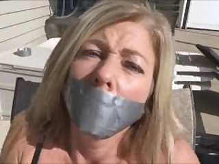 Demanding Housewife Bound And Gagged